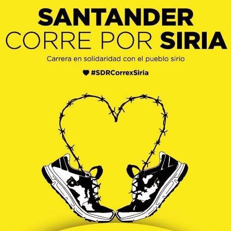 Porque cada paso cuenta, Santander, ¡Corre por Siria!