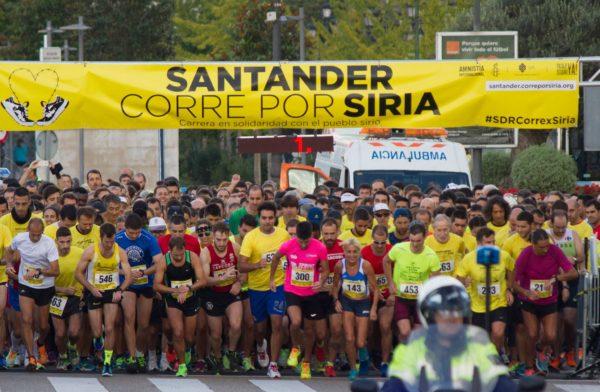 Santander corre por Siria (Fotografía: Amaia Carracedo Arana)