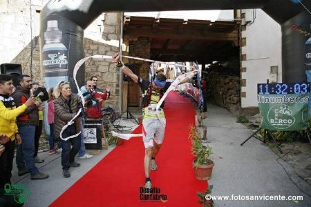 Llegada a meta (Foto: organización de Desafío Cantabria)