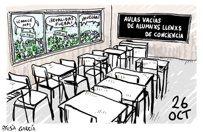 Huelga Estudiantes-Oct16