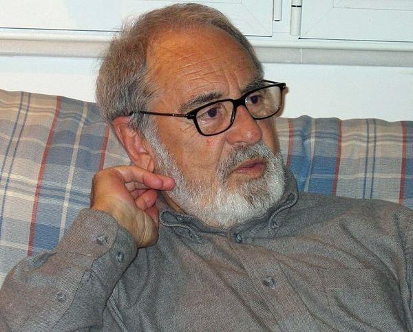 El poeta y autor cántabro Isaac Cuende, fallecido en octubre de 2015.