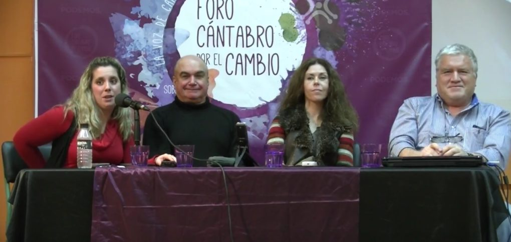 Mesa de Desarrollo Territorial con Carlos García, Belén Madrazo y Jesús Molinero.