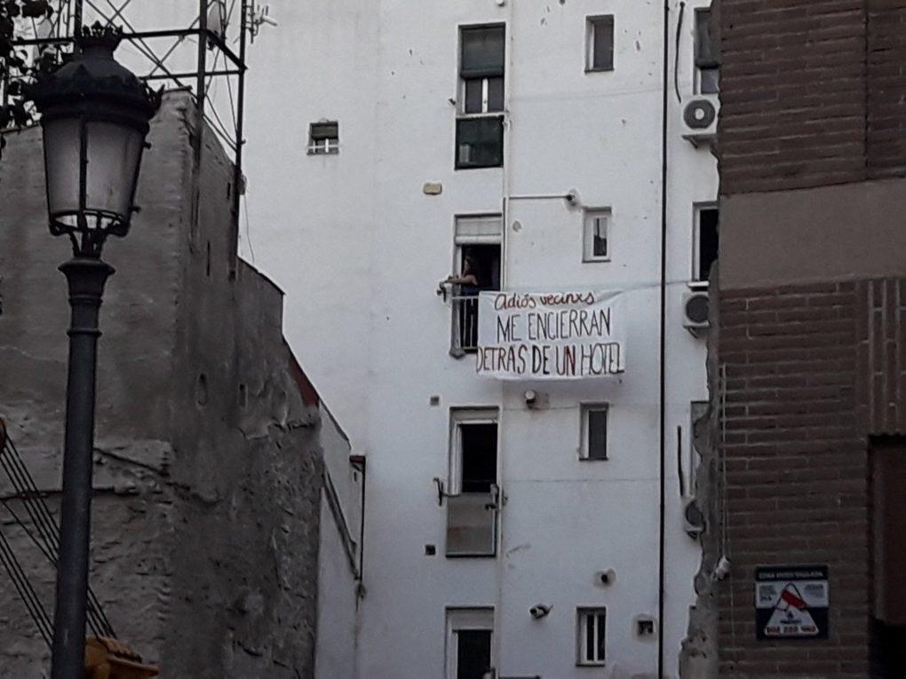 La construcción de un hotel en Lavapiés ha desatado protestas vecinales