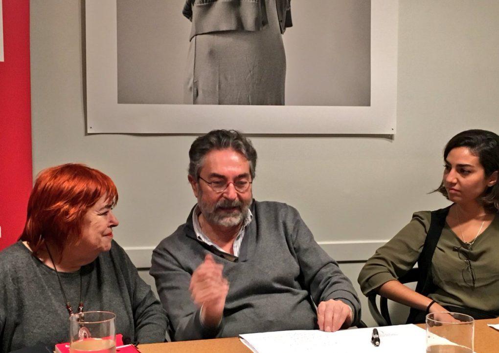 Rosa Pereda, Antonio Rubio y Marta Kaiser