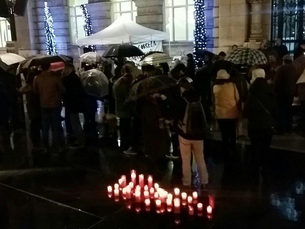 Protesta en Santander contra la pobreza energética