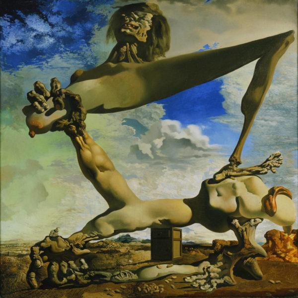 Composición blanda con judías hervidas (Premonición de la Guerra Civil. Autor: Salvador Dalí)