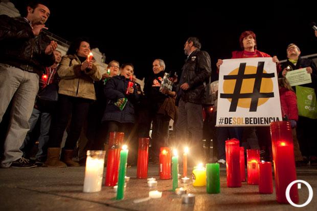 Protesta contra la pobreza energética
