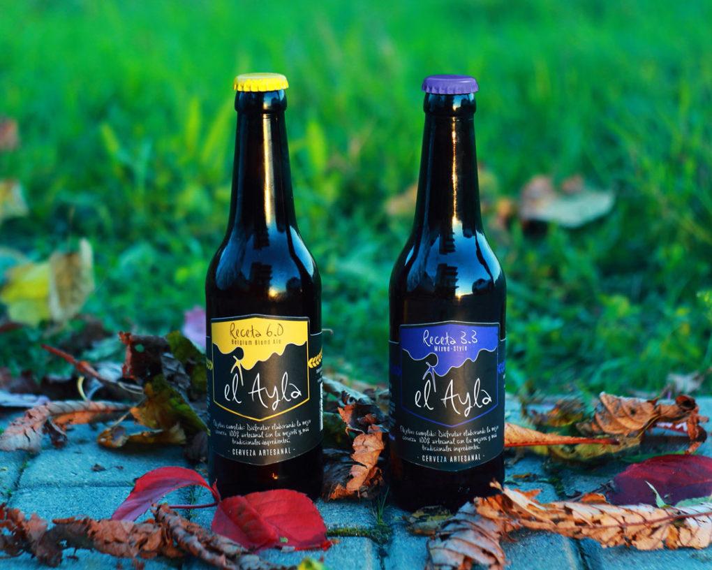 Cervezas El Ayla, producidas totalmente en Cantabria.