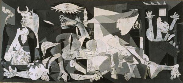 El guernica de Picasso (Porque las bombas siempre caen sobre los mismos)