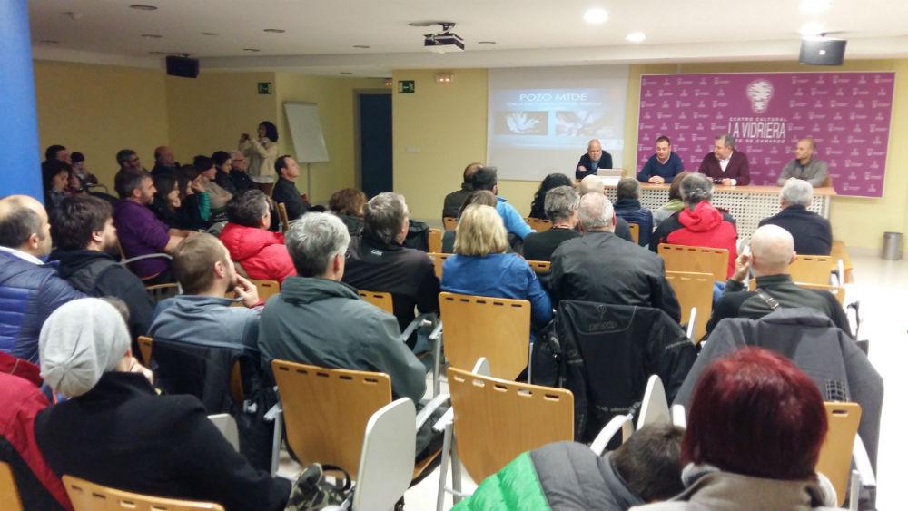 La presentación del descubrimiento se ha llevado a cabo en la Sala La Vidriera de Camargo.