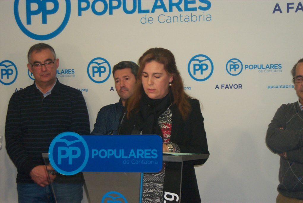 Esther Merino, ex alcaldesa de Cabezón y senadora por el PP.
