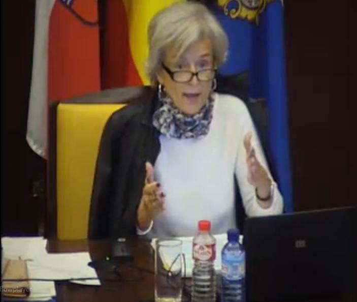 Ana González Pescador, concejala de Economía del Ayuntamiento de Santander.