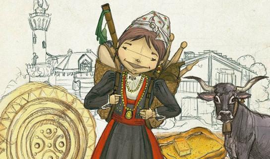 Portada de la 'Guía ilustrada de Cantabria', pensada especialmente para niños.