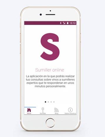 La aplicación diseñada por Aumentha