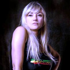 Inés Pardo, referente en la escena reggae