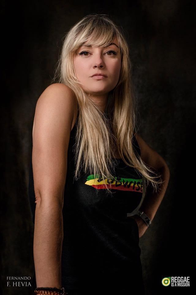 Inés Pardo, un referente en la escena de reggae. colaboradora de La castaña