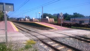 Estación de FEVE de Mogro.
