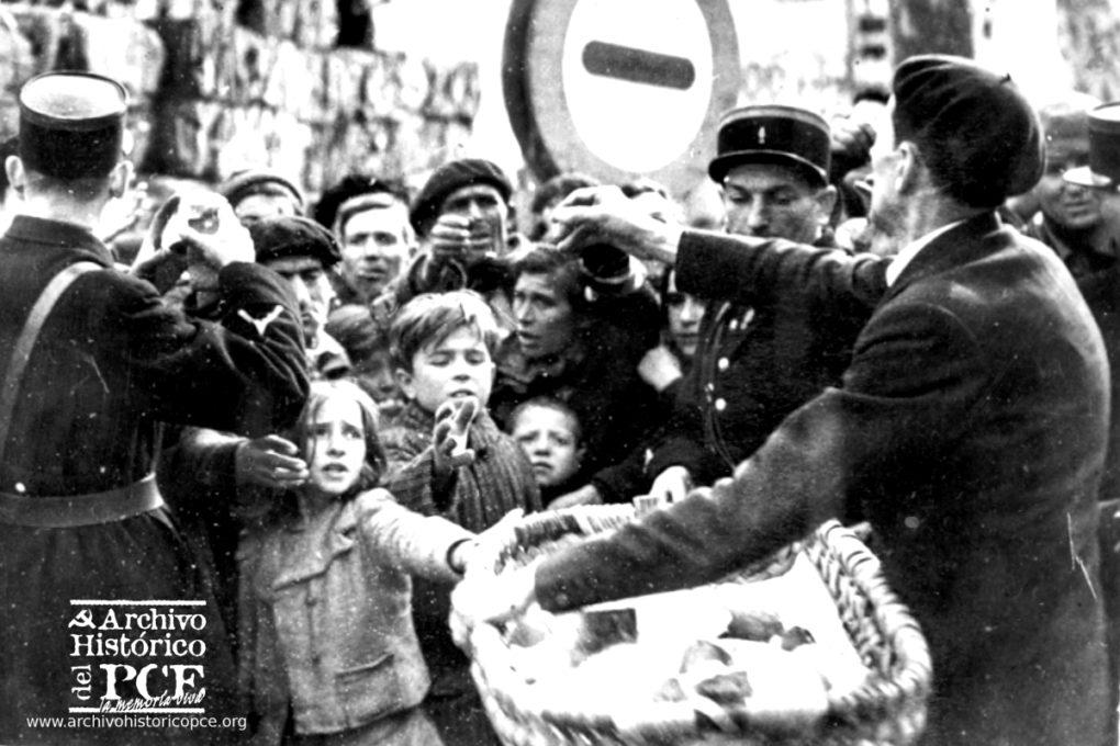 Hasta medio millón de españoles pasaron dos años recluidos en campos de concentración. Muchos acabaron en campos de exterminio nazis. Foto: Archivo histórico del PCE.