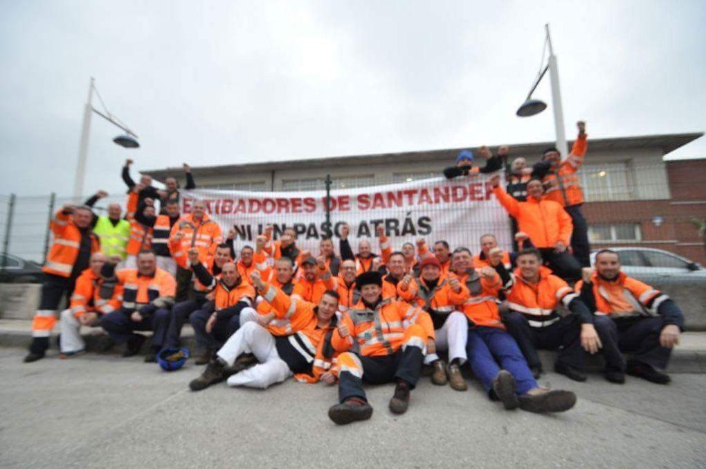 Estibadores del Puerto de Santander