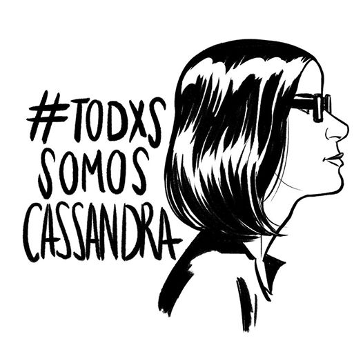 Ilustración de Natacha Bustos , del Colectivo de Autoras de Cómic