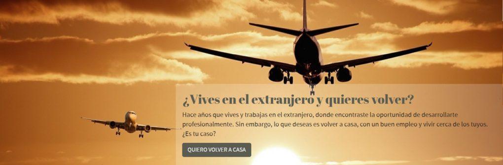 La página pone en contacto a jóvenes en el extranjero que quieren volver a España con empresas o administraciones que quieran aprovechar su talento.