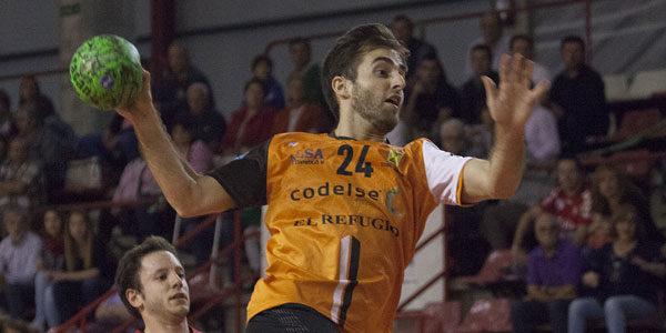 Ramiro Merino, jugador del Balonmano Torrelavega