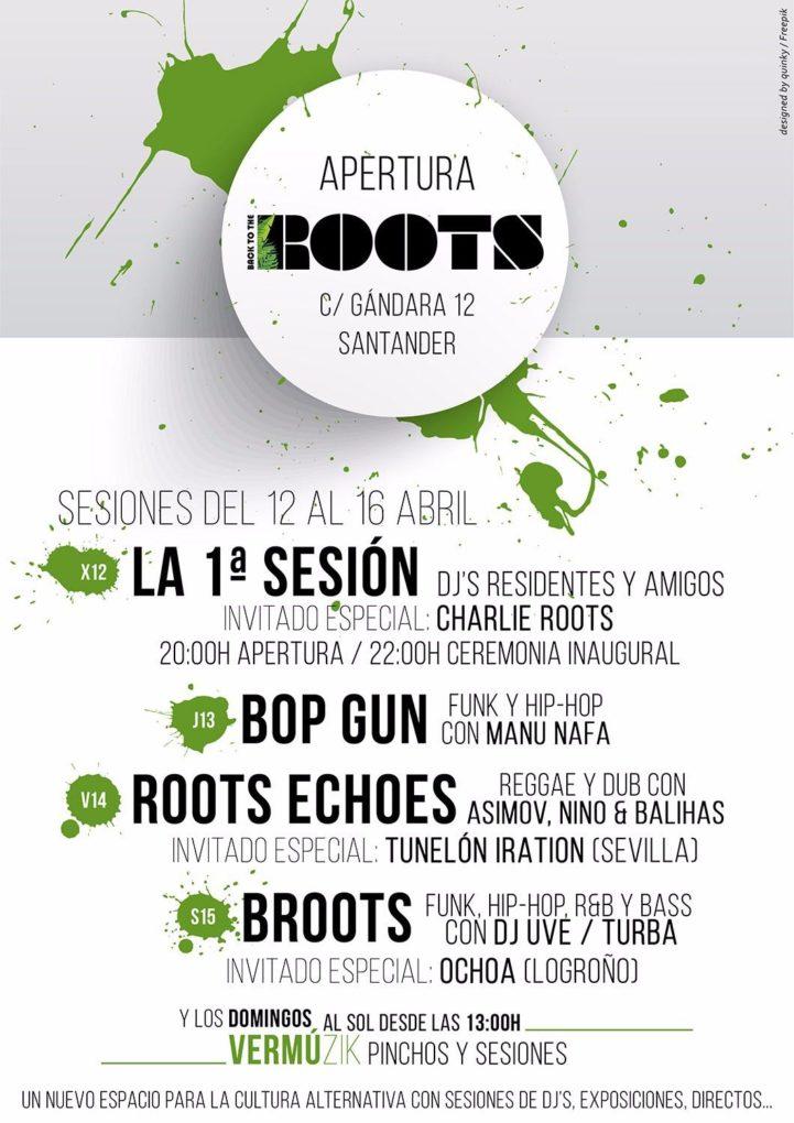Programación de la primera semana de 'Roots'.