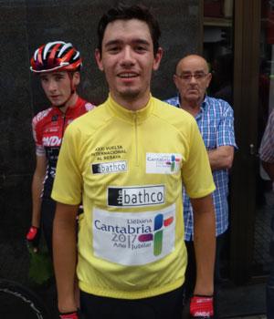 Eugenio Sánchez, vencedor de la 31ª Vuelta al Besaya. Foto: Vuelta al Besaya