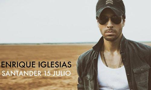 Enrique Iglesias dará un concierto exclusivo en El Sardinero. Foto: Facebook oficial del evento