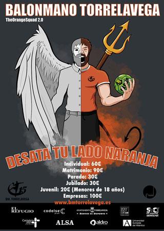 El cartel de la nueva campaña de abonados del Balonmano Torrelavega