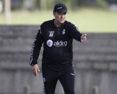 El entrenador racinguista, Ángel Viadero. Foto: Real Racing Club
