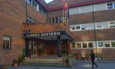 El Instituto Torres Quevedo, durante la jornada de huelga
