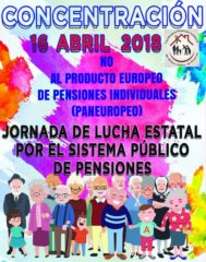 Lucha por las pensiones