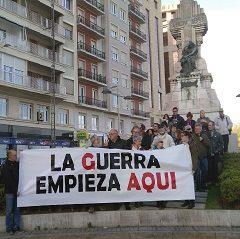 Protesta contra el tráfico de armas