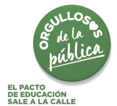 Acto por la educación