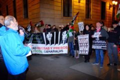 Concentración de apoyo a presos saharauis