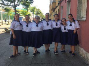 Las mujeres marineras de el Barrio Pesquero Foto: Carmen Soto