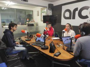 Miriam, Rafa y Ángel nos presentan 'pupitre gitano' en Arco FM