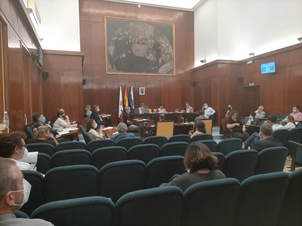 Pleno municipal ayuntamiento de santander