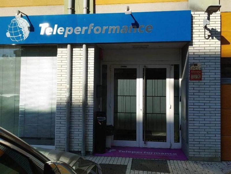 Teleperfomrance. Foto. UGT Cantabria