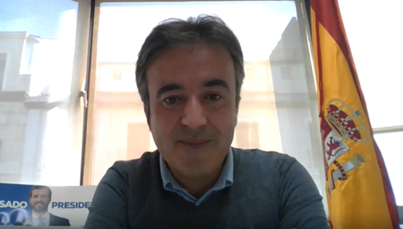 Diego Movellán, diputado del PP en el Congreso por Cantabria